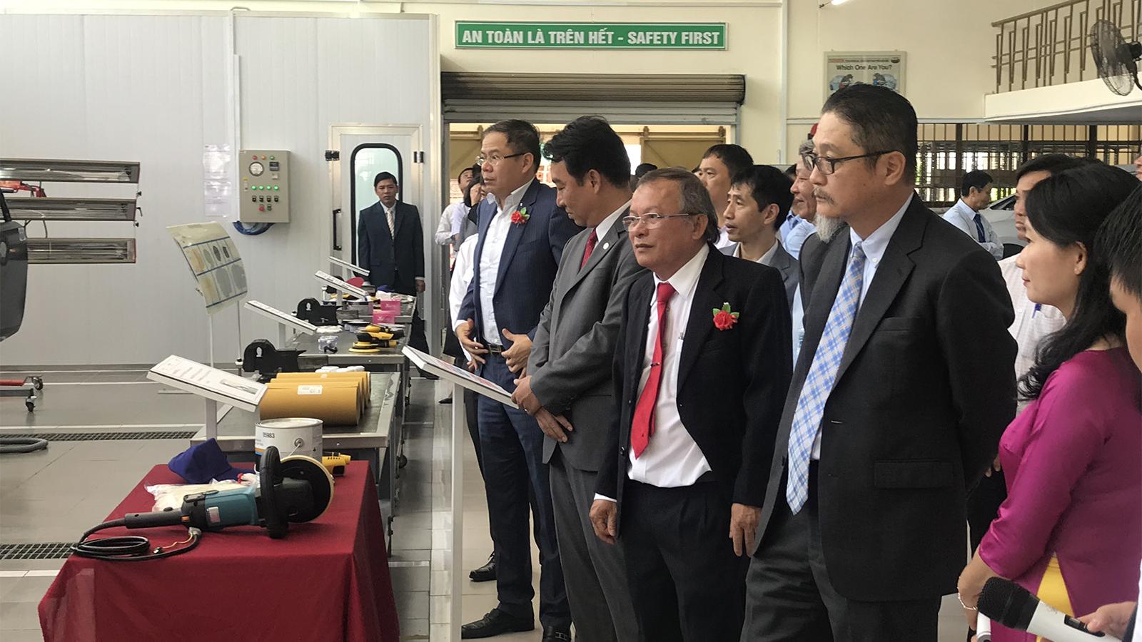 Toyota làm được gì cho các trường Đại học kỹ thuật tại Việt Nam?