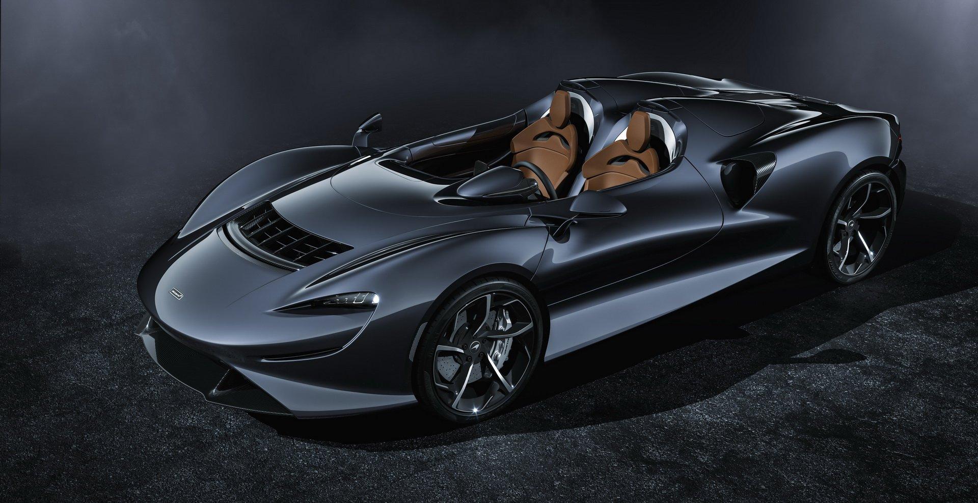 Siêu xe mui trần không kính chắn gió McLaren Elva lộ diện