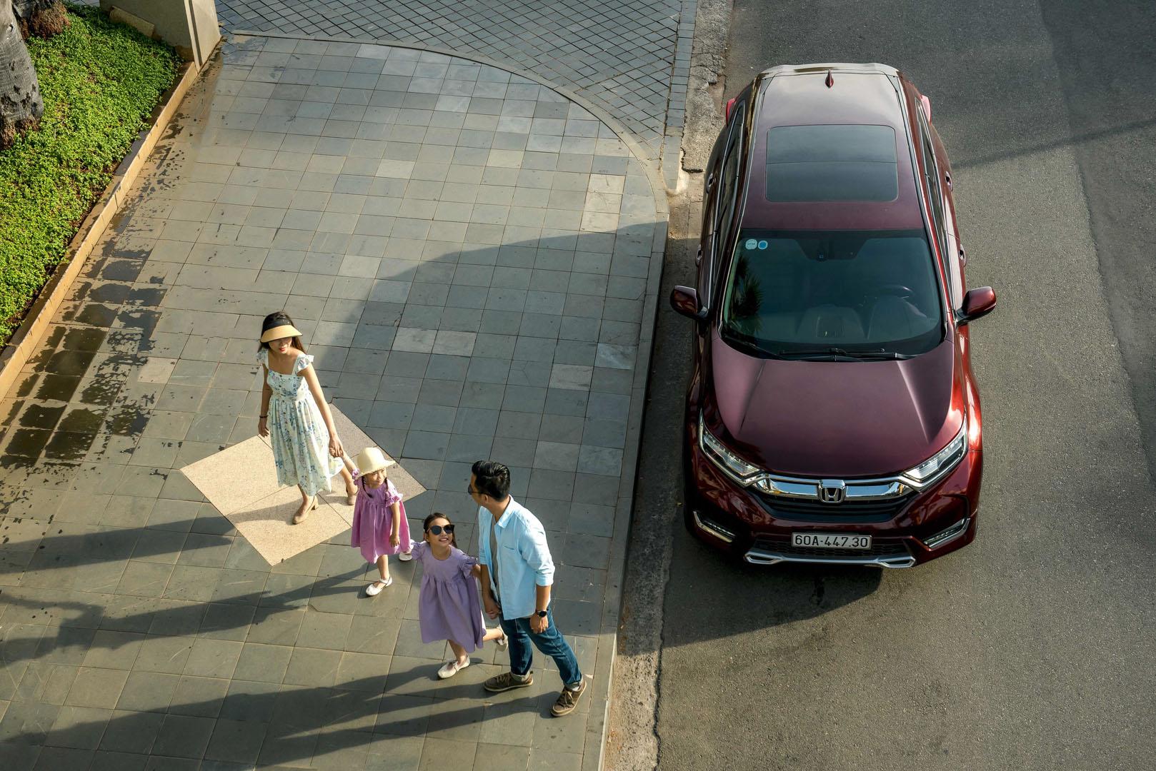 """Đánh giá Honda CR-V: """"Thoải mái, sang trọng và mạnh mẽ"""""""