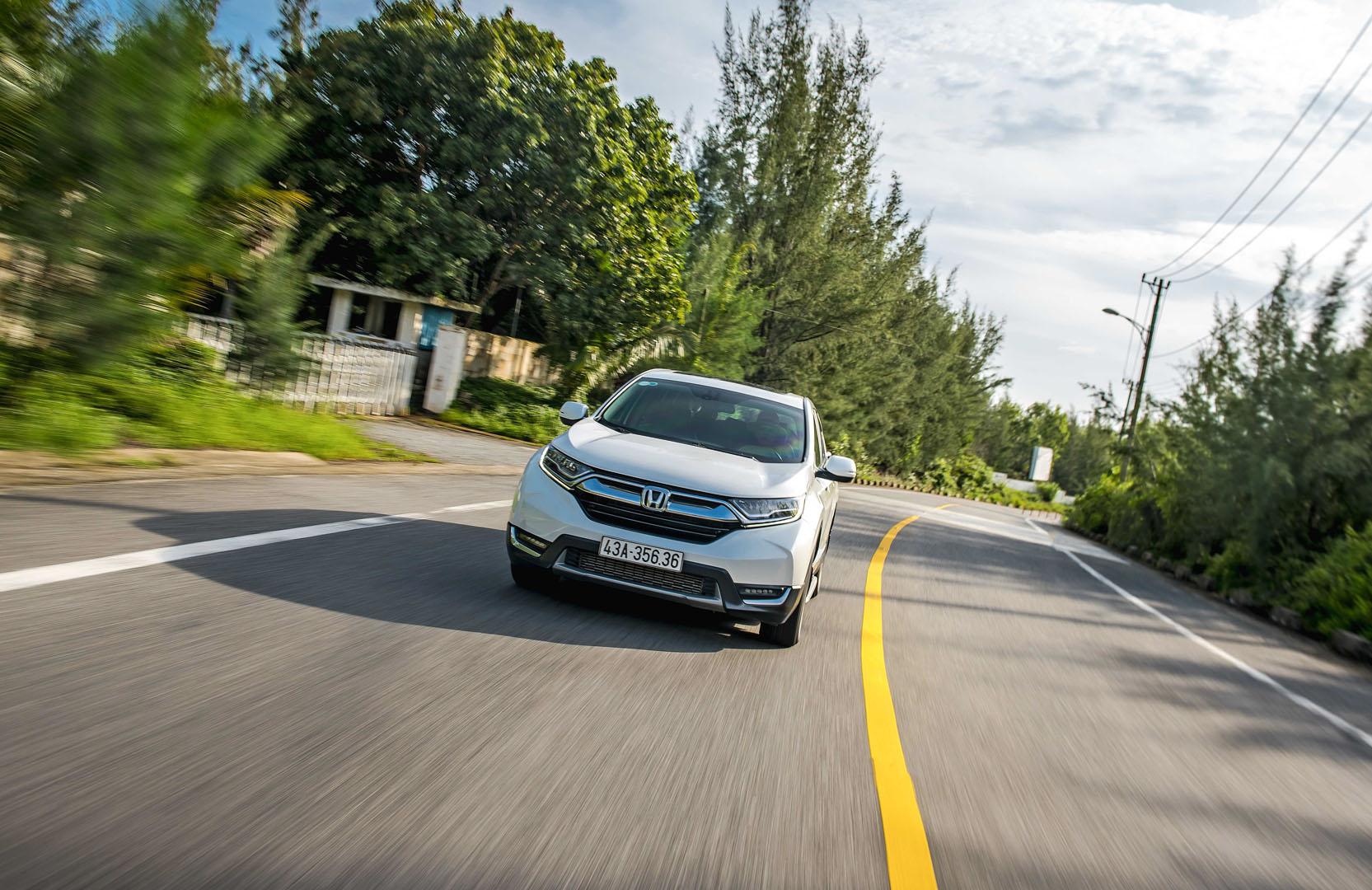 Honda CR-V sử dụng vật liệu thép mới, gia tăng sức chịu đựng cũng như độ ổn định