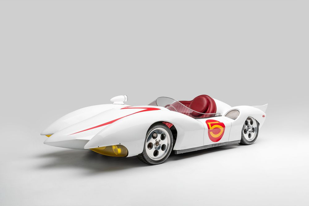 Mach 5 trong phim Speed Racer