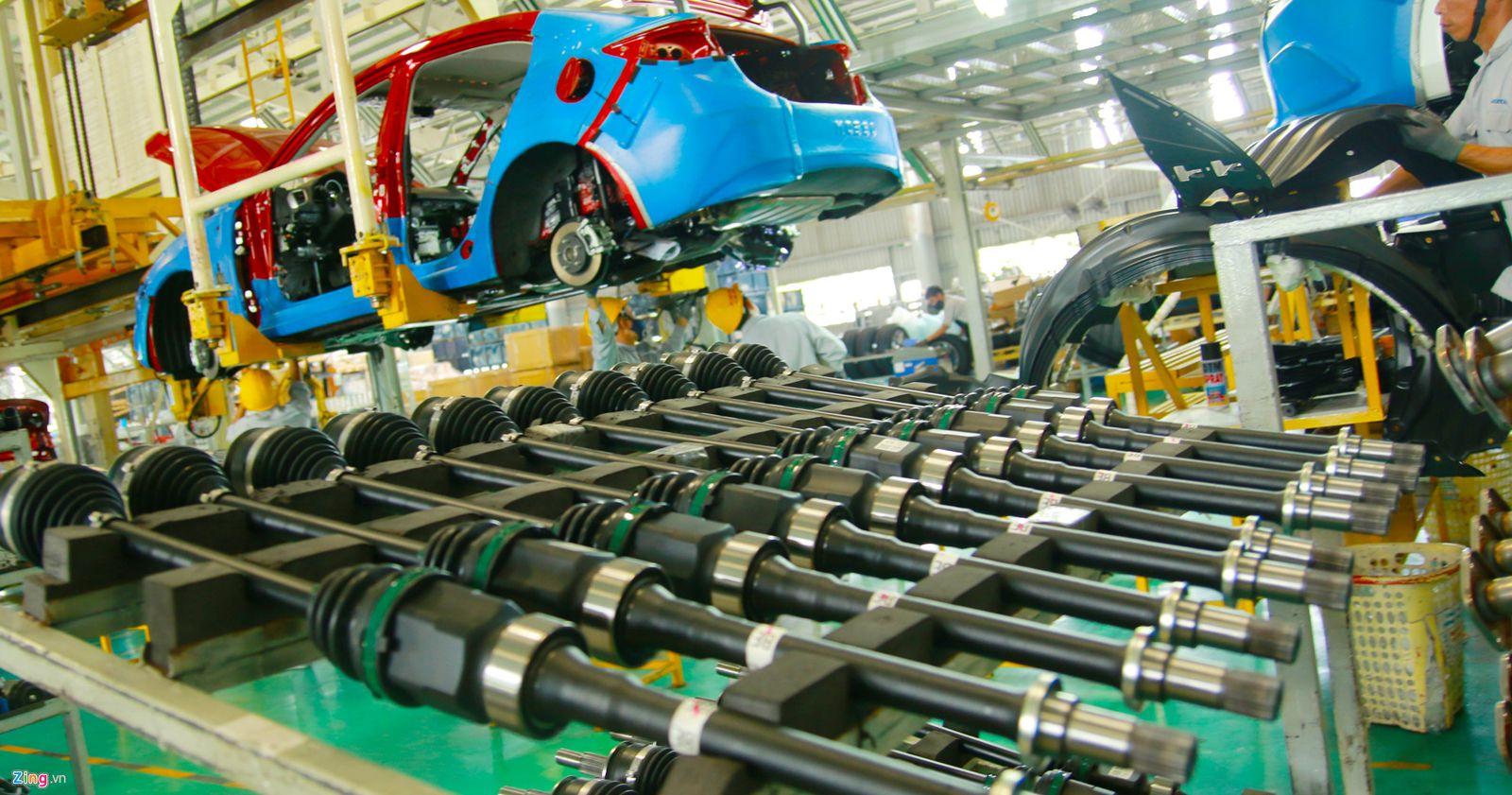 Công nghiệp ô tô Việt Nam