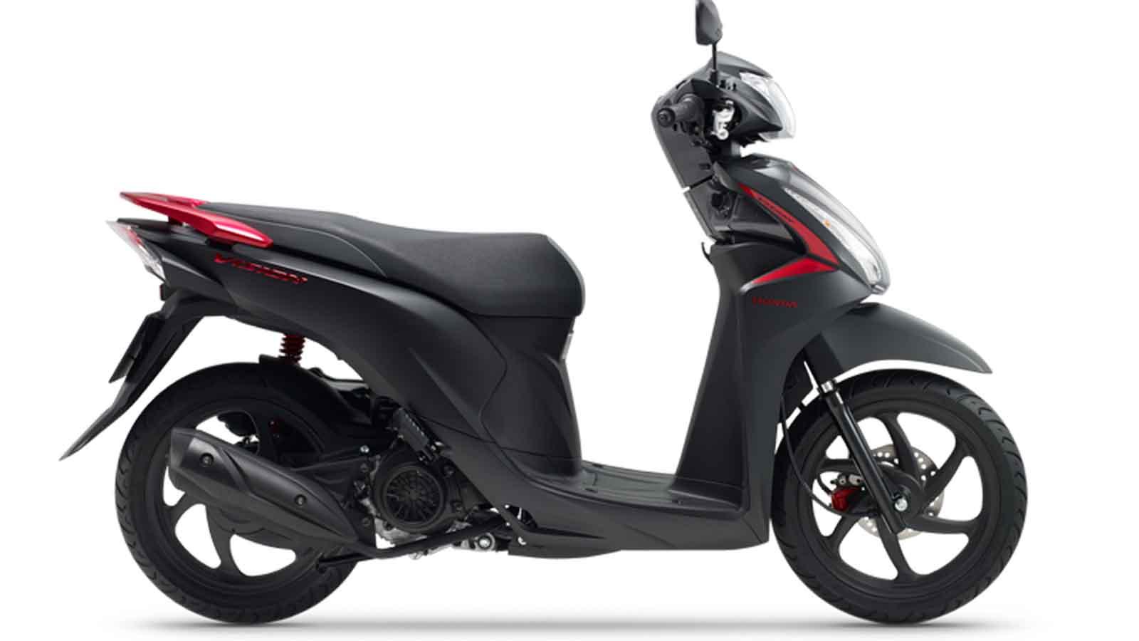 Honda Vision có thêm màu mới