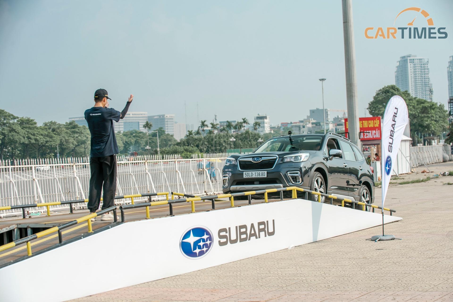 Cuối tuần trải nghiệm sự kiện lái thử Subaru Ultimate Test Drive tại Mỹ Đình