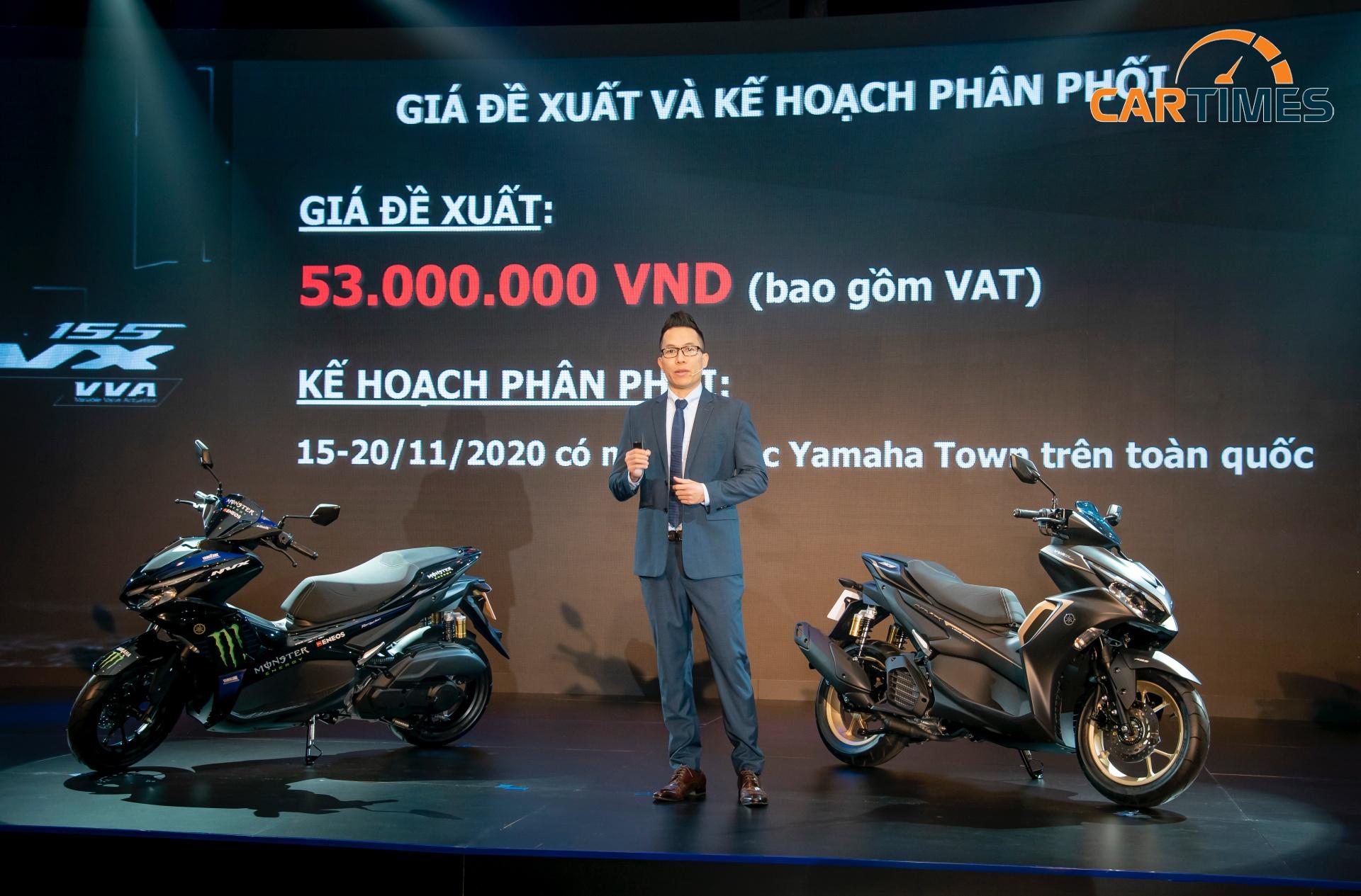 Giá xe Yamaha NVX 2020 từ 53 triệu đồng