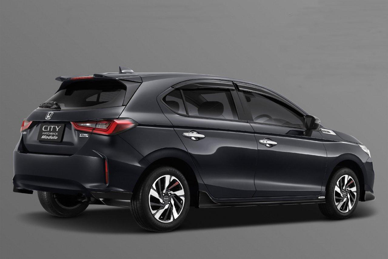 Honda City 2021 hatchback cá tính hơn