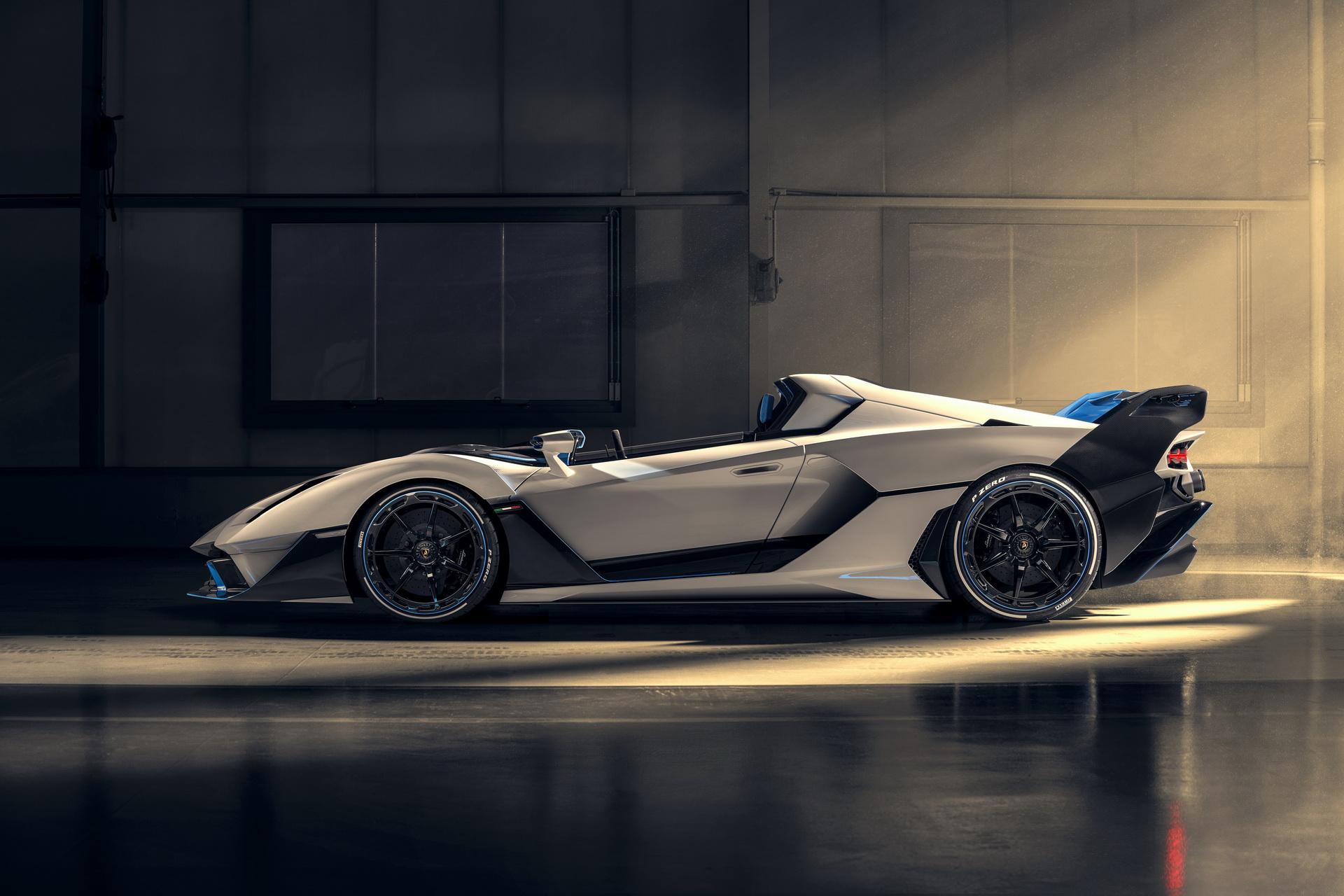 Thân xe Lamborghini SC20