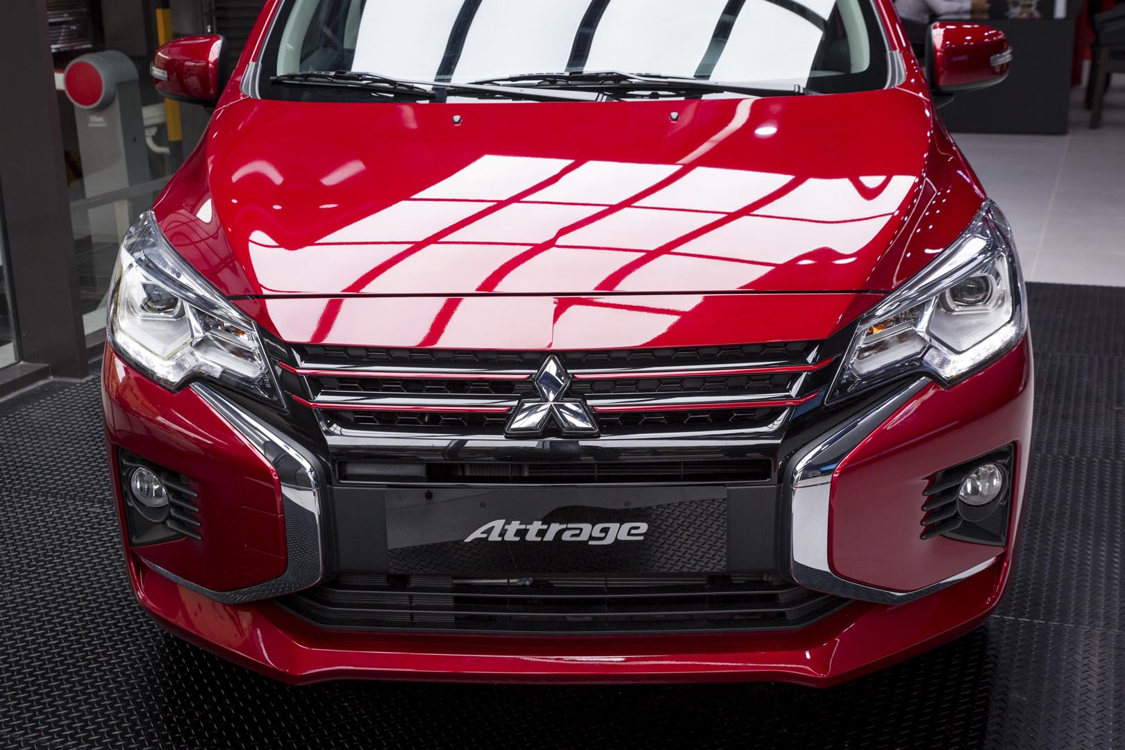 Thiết kế Dynamic Shield trên Mitsubishi Attrage 2020