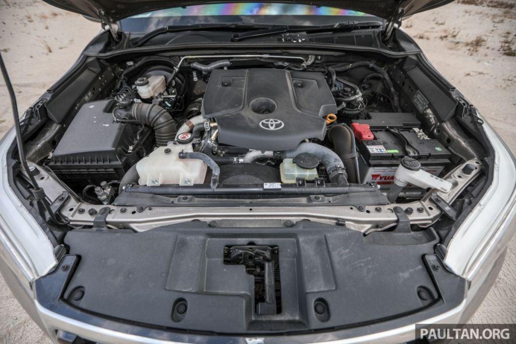 Động cơ của xe Toyota Hilux cũng sẽ được nâng cấp