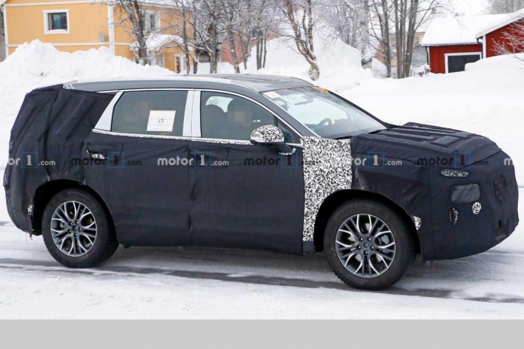Xem trước Hyundai Santa Fe facelift mới qua ảnh dựng