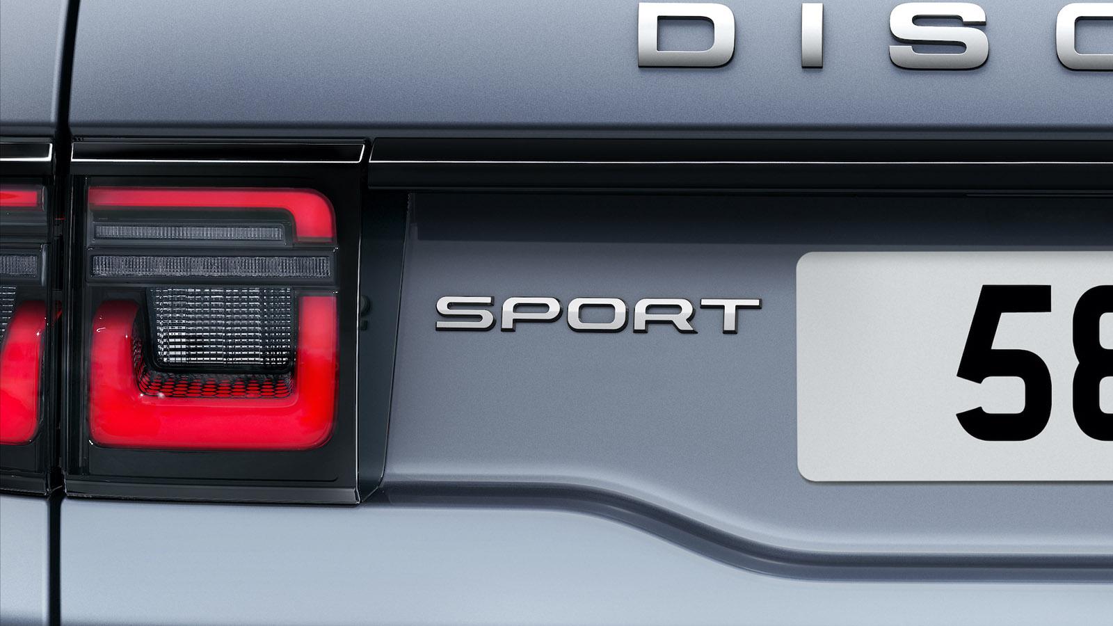 Đuôi xe Land Rover Discovery Sport 2020