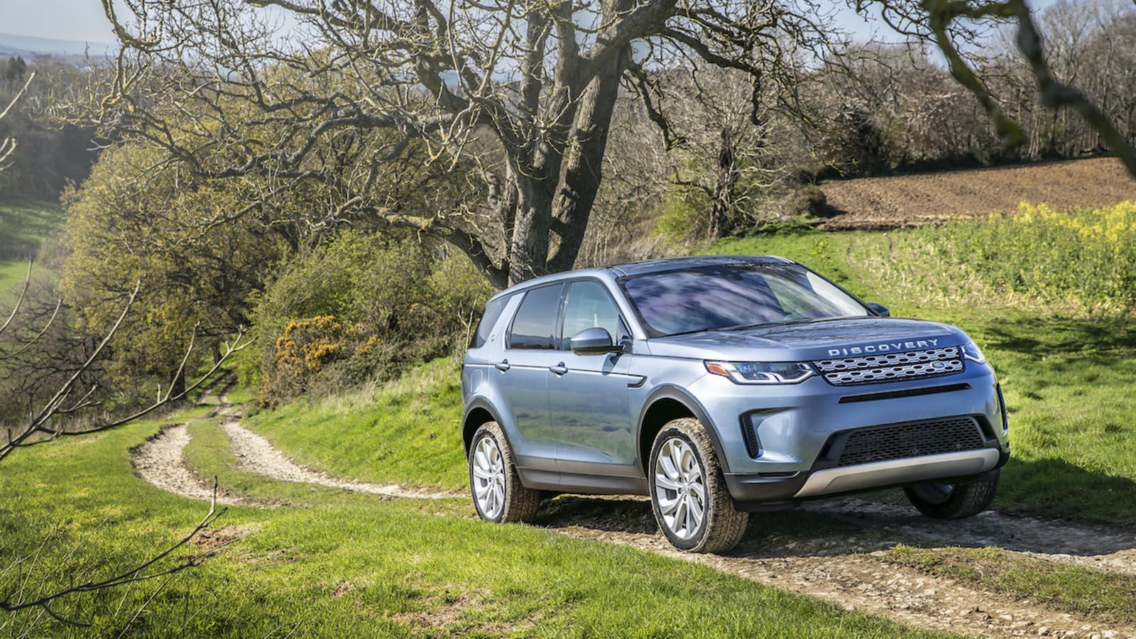 Vận hành Land Rover Discovery Sport 2020