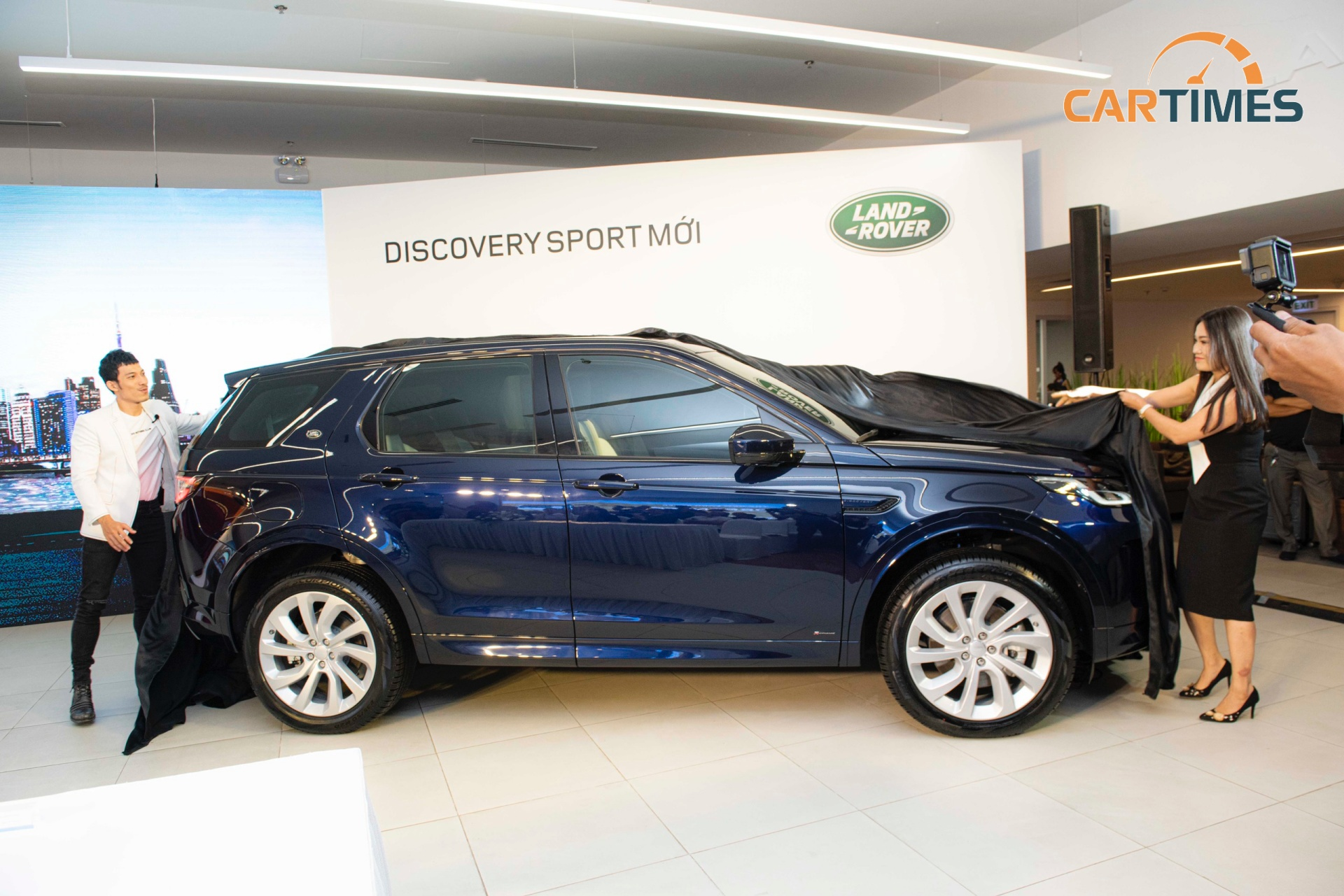 Mẫu xe Land Rover Discovery Sport 2020