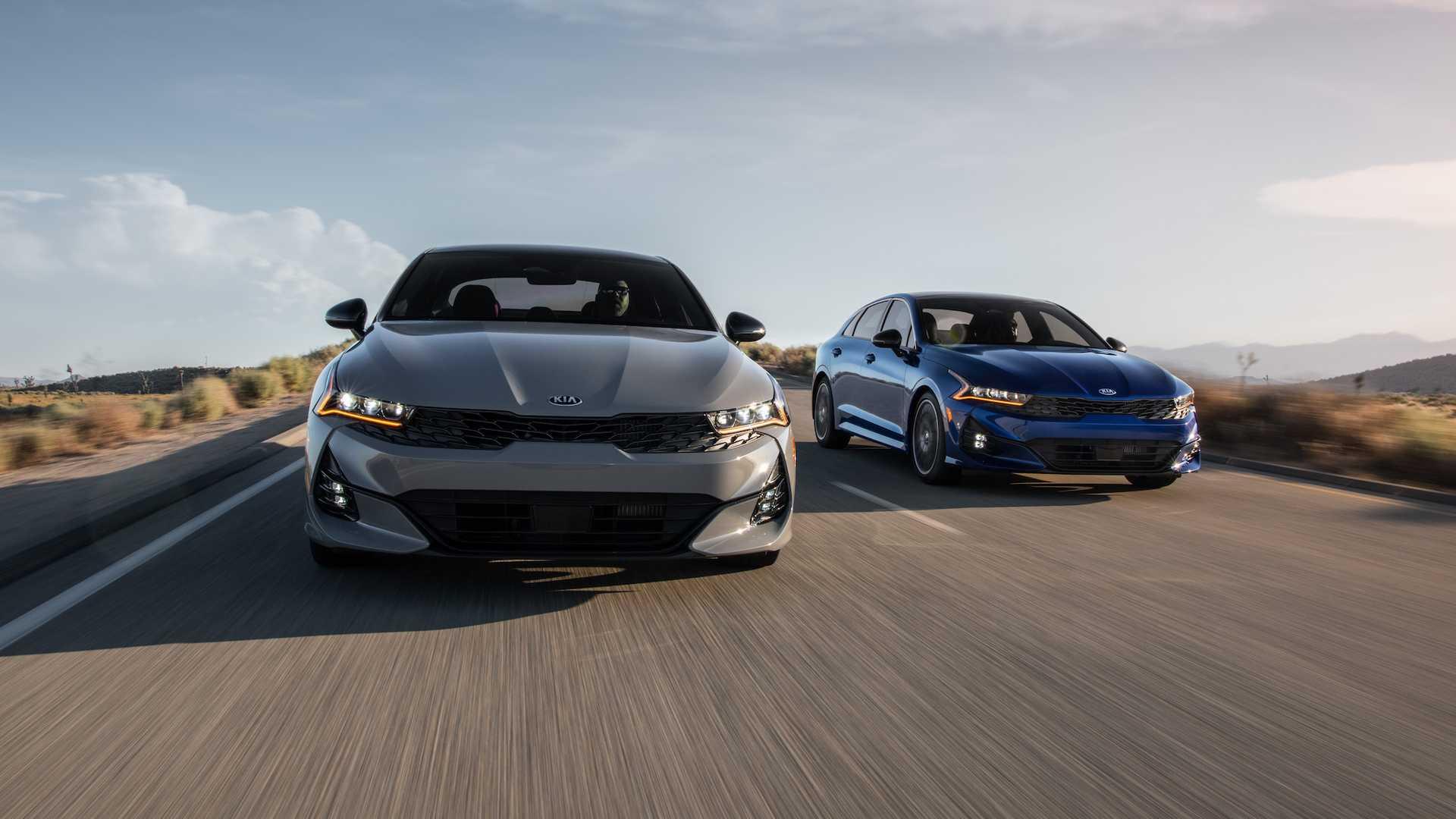 Kia Optima 2021 chính thức ra mắt tại Mỹ với tên gọi K5