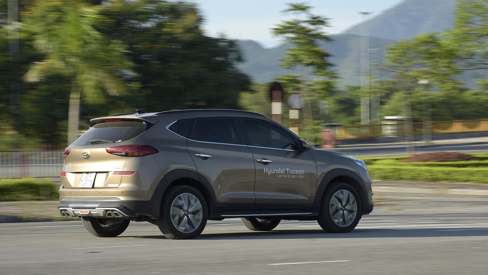 Cảm giác lái Hyundai Tucson 2020