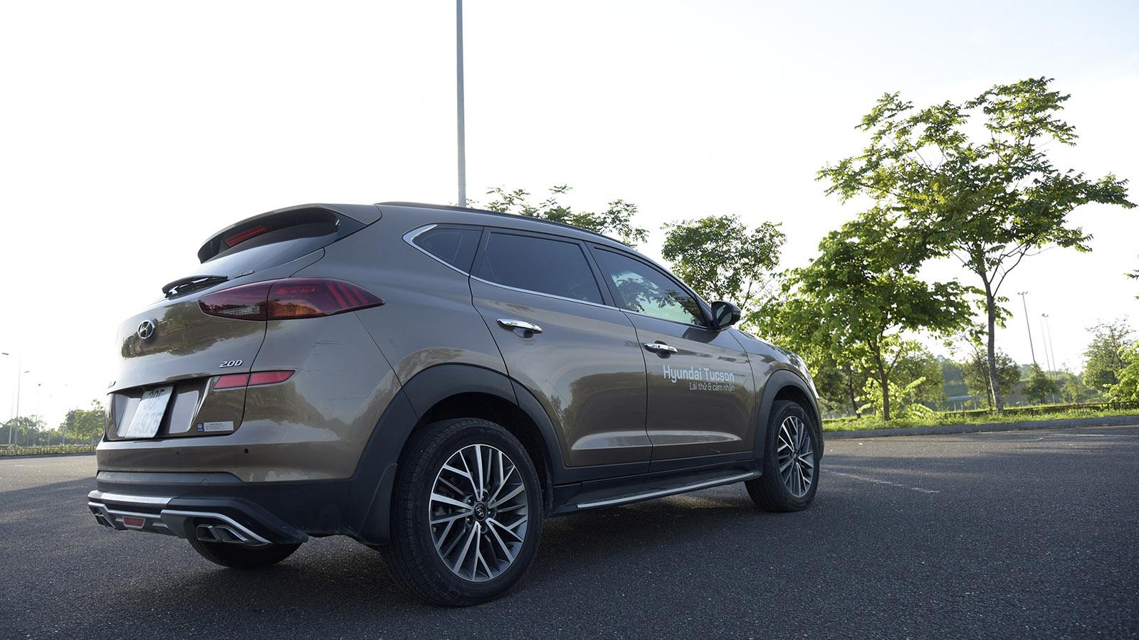 Thiết kế sau xe Hyundai Tucson 2020