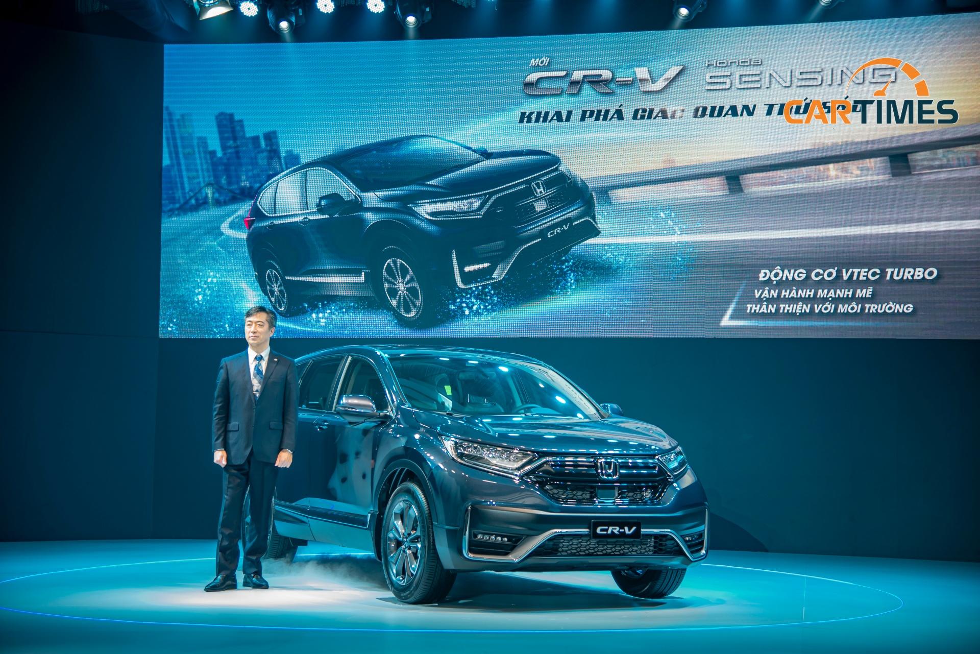 Honda CR-V 2020 sẽ có 3 phiên bản E, G và L