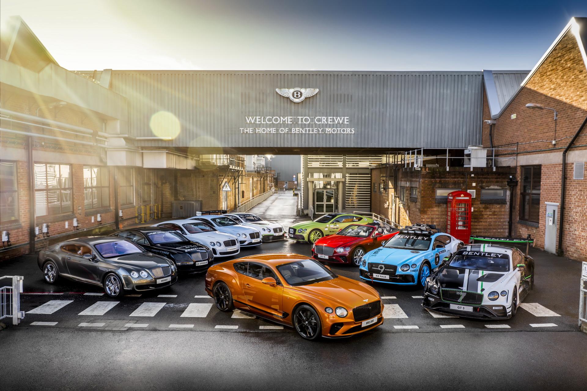 Bentley đã sản xuất Continental GT V8 thứ 80.000
