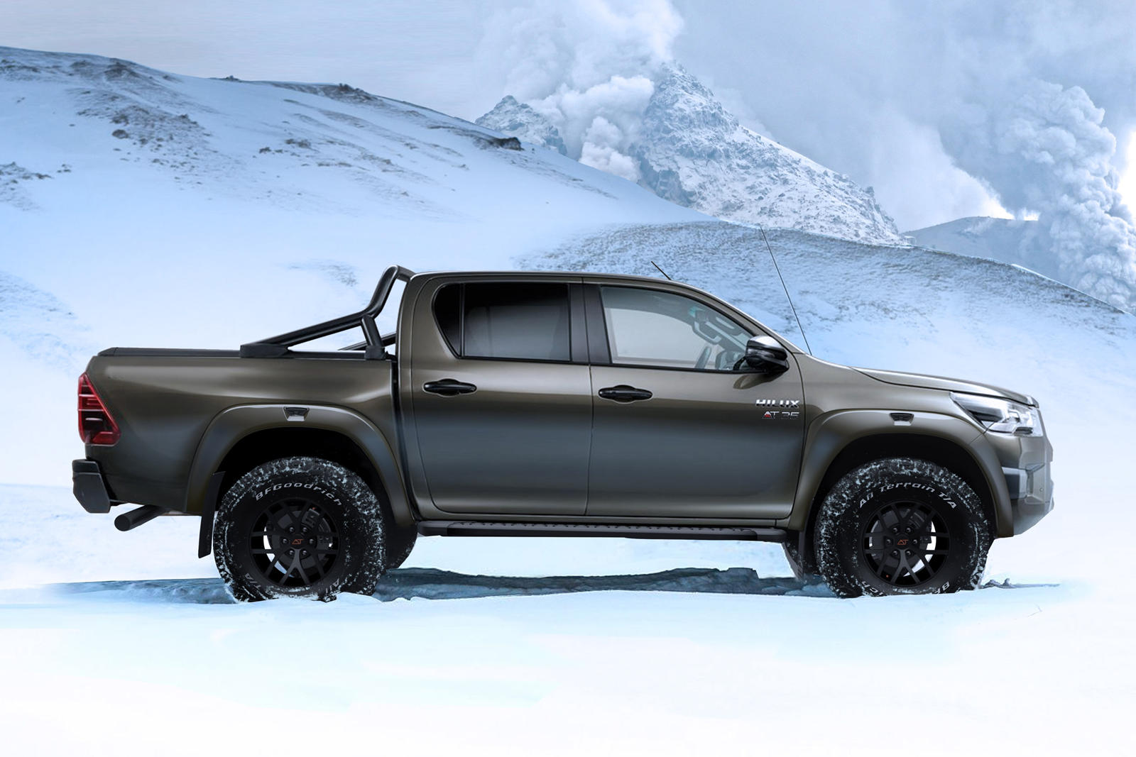 Thân xe Toyota Hilux Arctic Truck AT35