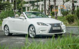 Lexus IS 250 C 2011 được rao bán, giá ngang ngửa Toyota Camry 2019