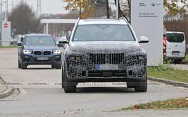BMW X7 2022 lộ diện với thiết gây tranh cãi