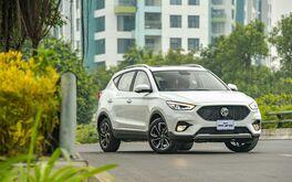 Cận cảnh xe MG ZS Smart up 2021: thêm trang bị, nhập khẩu từ Thái Lan