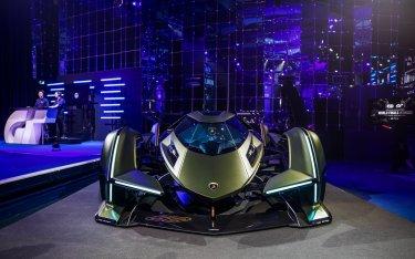 Lamborghini trình làng siêu xe như cỗ máy đến từ ngoài hành tinh