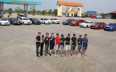 Bimmer Việt bắt đầu hành trình 3.700km trên những chiếc xe BMW