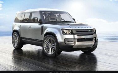 Land Rover Defender vừa ra mắt đã có phiên bản độ, ốp gỗ cả sàn xe
